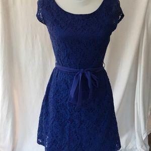 LC Blue lace Lauren Conrad dress